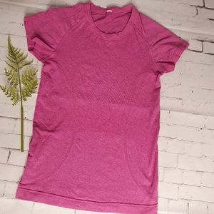 Lululemon XXS-XS Swiftly Top In Pink Exc Condition